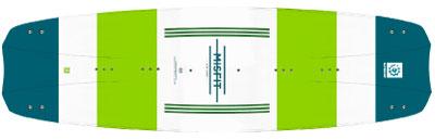 2018 Slingshot Misfit kiteboard - KiteRoute - Kiteboarding - Directory - Types of Kiteboards - How to choose the right kiteboard