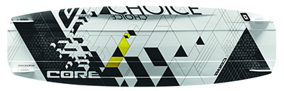 Core Choice 2 kiteboard - KiteRoute - Kiteboarding - Directory - Types of Kiteboards - How to choose the right kiteboard