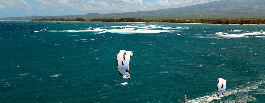 Maui Hawaii Kiteboarding - Top 5 USA Kiteboarding locations