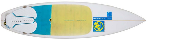 RRD Maquina K V2 Surfboard Kite Surfboard - KiteRoute - Kiteboarding - Directory - Types of Kiteboards - How to choose the right kiteboard