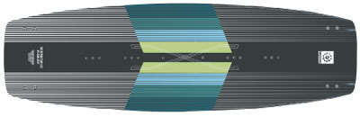 Slingshot Refraction kiteboard - KiteRoute - Kiteboarding - Directory - Types of Kiteboards - How to choose the right kiteboard