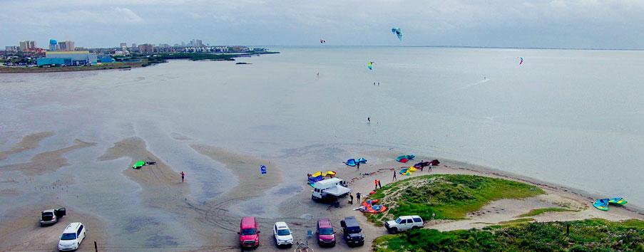 South Padre Island Texas Kiteboarding - Top 5 USA Kiteboarding locations