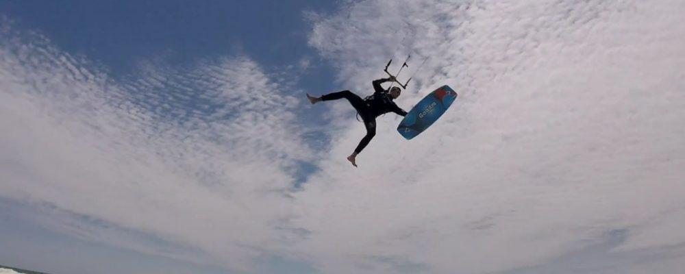 Light Wind Delight – Old shool Kiteboarding Tricks Cape Town – KiteRoute