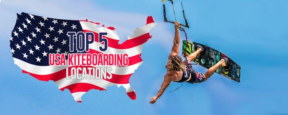 Top 5 USA Kiteboarding locations