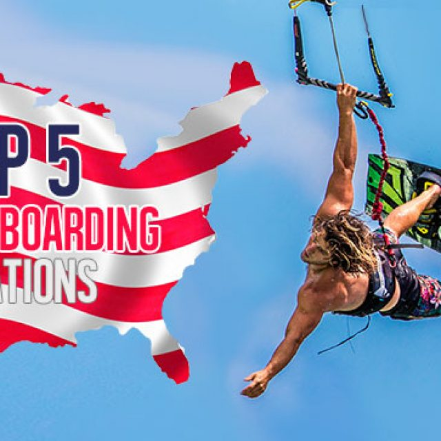 Top 5 USA Kiteboarding locations